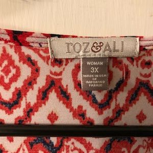 Tops - Red and white top